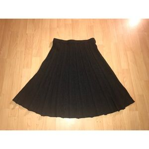 Eileen Fisher 100% Merino Wool Skirt
